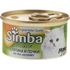 Simba Cat Mousse with Veal and Kidney
