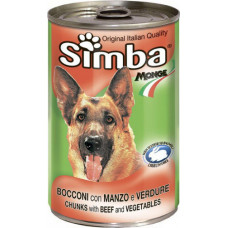 Simba Dog Chunks with Beef and Vegetables