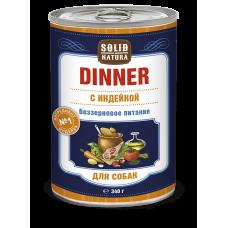 Solid Natura Dinner Dog / Индейка