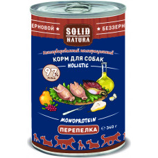 Solid Natura Holistic Monoprotein Dog / Перепелка