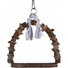 Trixie Качели деревянные с веревкой