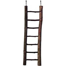 Trixie Лестница деревянная с корой