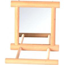 Trixie Зеркало с деревянной жердочкой