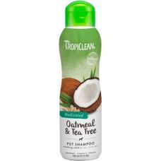 TropiClean Medicated Shampoo Oatmeal & Tea Tree 355 мл