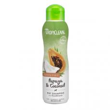 TropiClean Shampoo 2in1 Papaya & Coconut Luxury 355 мл