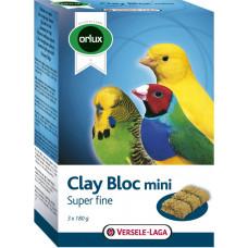 Versele-Laga Orlux Clay Bloc Mini 3х180 г