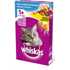 Whiskas Для стерилизованных кошек и кастрированных котов «Курица»