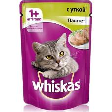 Whiskas Мясной паштет с уткой