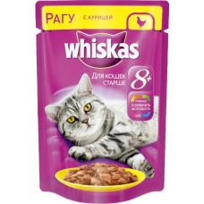 Whiskas Рагу с курицей для кошек старше 8 лет